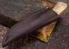 Arno Bernard Knives: Bush Baby Series - Gecko - Giraffe Bone - 060733