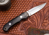 Alan Warren Knives: Hideout Special - Black G-10  - Carbon Fiber