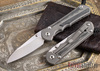 Chris Reeve Knives: Large Inkosi - Black Canvas Micarta Inlay - Insingo Grind