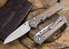 Chris Reeve Knives: Large Inkosi - Natural Canvas Micarta Inlay - Insingo Grind