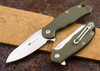 Steel Will Knives: Modus - Green G-10 - M390 Steel