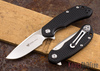Steel Will Knives: Cutjack Mini - Black FRN - D2 Steel
