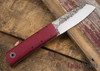 Fiddleback Forge: Chief - Ruby Burlap - FF08BD010