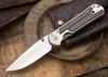 Chris Reeve Knives: Large Sebenza 21 - Bog Oak - 021508