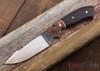 Carter Cutlery: Wrought Iron Aviator - Ironwood w/ Burl Bolster - #1047