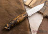 Cross Knives: EDC - Spalted Hackberry - Black Liners - CPM-3V Steel - 022603