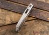 Todd Begg Knives: Custom Beggatti - Pearl Wafer Carbon Fiber - Mirror Polish Blade