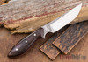 Carter Cutlery: Muteki #1311 Freestyle - Ironwood - Red Liners