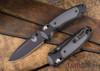 Benchmade Knives: 595BK Mini Boost - AXIS Assist - CPM-S30V - Versaflex - Black Blade