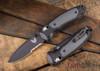 Benchmade Knives: 595SBK Mini Boost - AXIS Assist - CPM-S30V - Versaflex - Serrated Black Blade