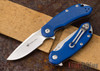 Steel Will Knives: Cutjack Mini - Blue G-10 - M390 Steel