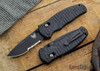 Benchmade Knives: 1000001SBK Volli - AXIS® Assist - Black Serrated Blade