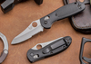 Benchmade Knives: 555SHG Mini Griptilian - Serrated Sheepsfoot Blade