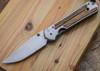 Chris Reeve Knives: Large Sebenza 21 - Bocote Inlay - L