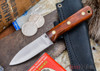 L.T. Wright Knives: Genesis - Desert Ironwood - Flat Ground - A2 Steel - #34