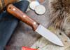 L.T. Wright Knives: Genesis - Desert Ironwood - Flat Ground - A2 Steel - #64