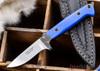 Alan Warren: Custom - Blue G-10 - Carbon Fiber - Black Liners - CPM-154
