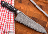 """Kramer by Zwilling: Euroline - 5"""" Utility Knife - Stainless Damascus Collection"""