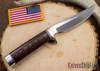 Randall Made Knives: Model 3-5 Hunter - Red & Blue Micarta