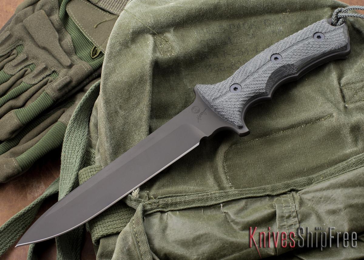 "Chris Reeve Knives: Green Beret - 7"" - Black PVD - Plain Edge primary image"