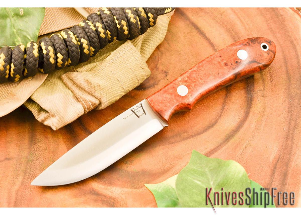 Hyken Knives: Bushcrafter CPM-154 - Desert Ironwood Burl #1 primary image