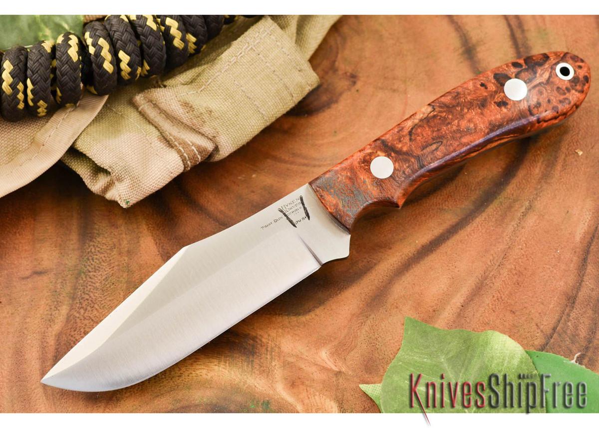 Hyken Knives: Harpoon CPM-154 - Desert Ironwood Burl #2 primary image