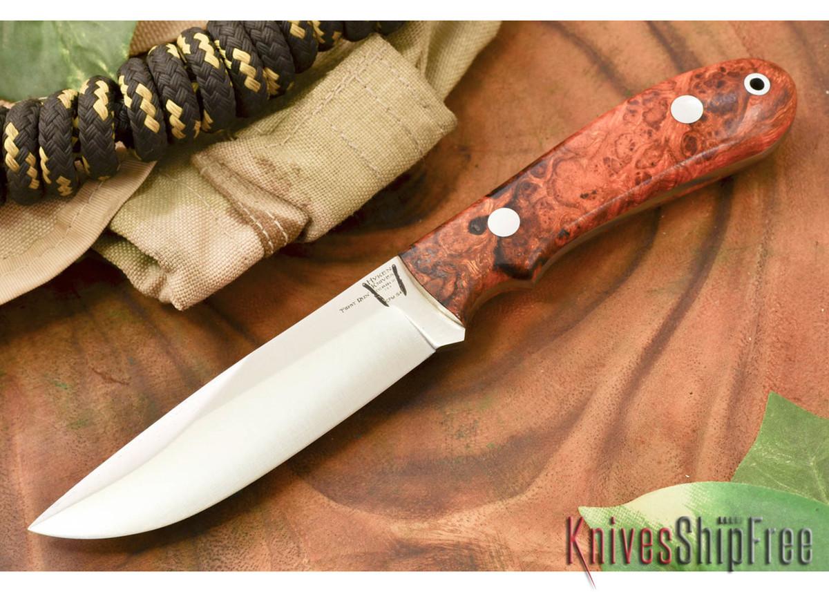 Hyken Knives: Lite Hunter CPM-154 - Desert Ironwood Burl #1 primary image