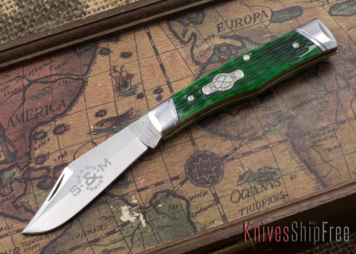 Schatt & Morgan: File & Wire Series - #40 Gunstock - CPM 154 - Green ...
