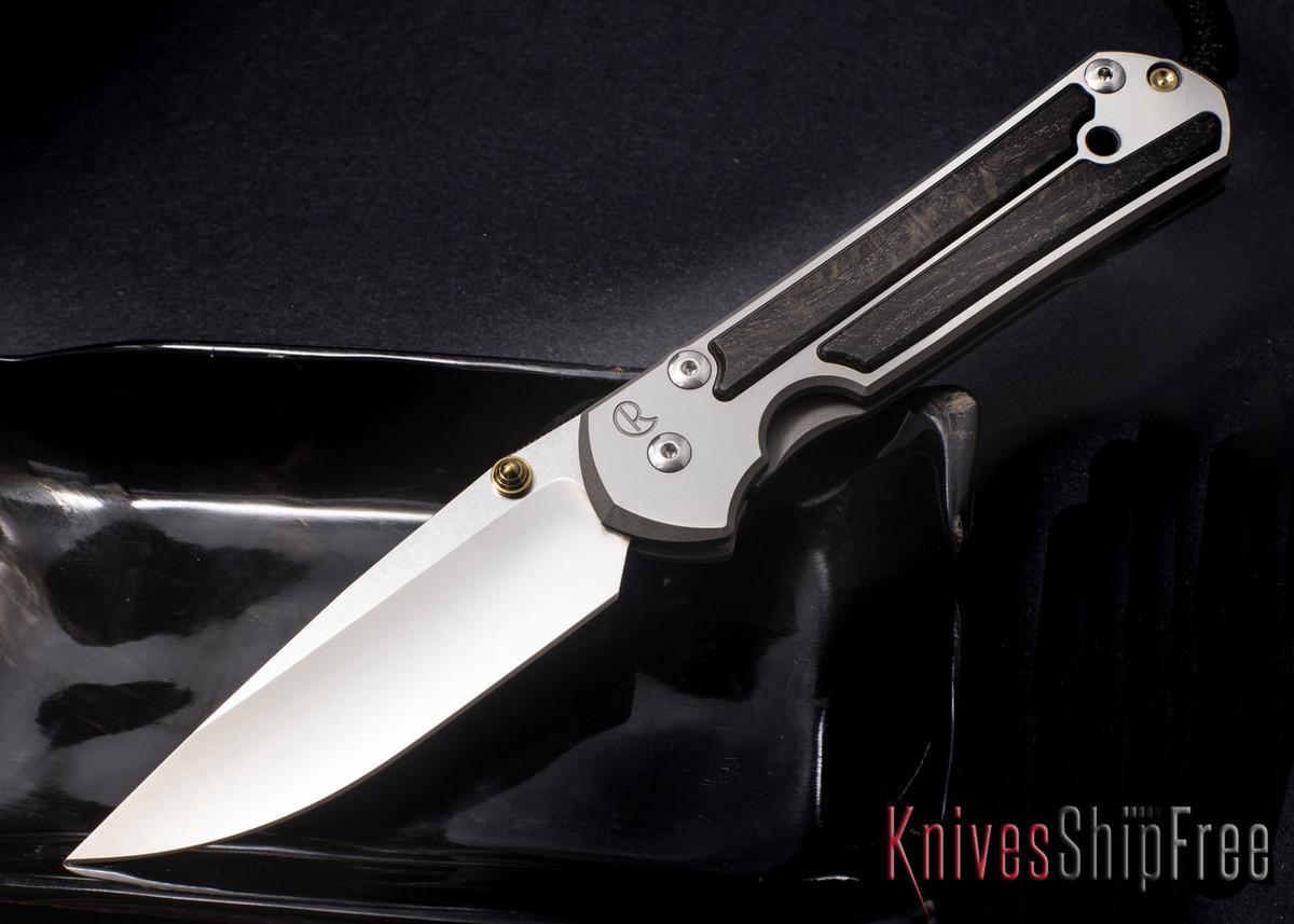 Chris Reeve Knives: Large Sebenza 21 - Bog Oak - 061320 primary image