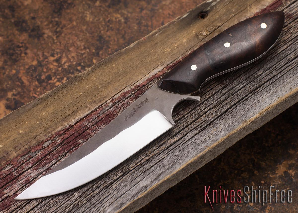 Carter Cutlery: Muteki Persian Neck Knife - Ironwood - White Liners - #1130 primary image