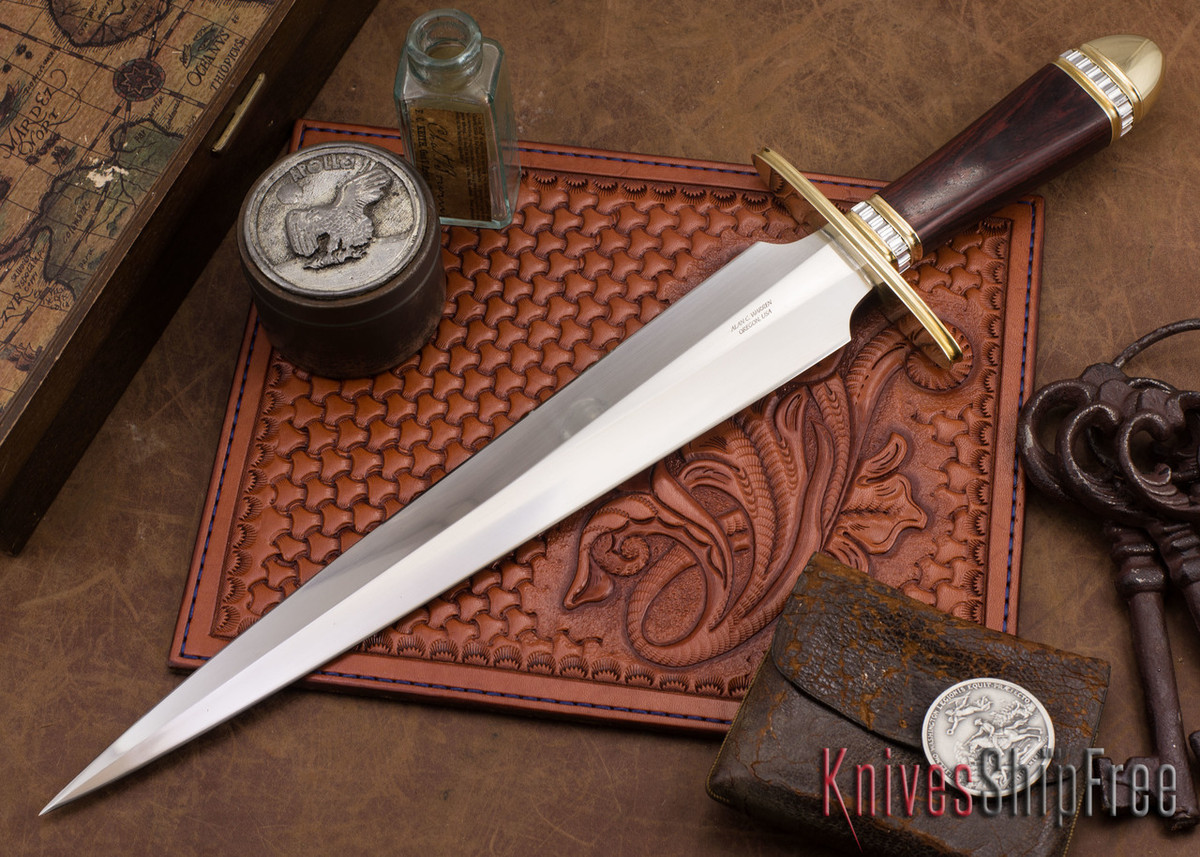 Alan Warren Knives: Toothpick - Ironwood primary image