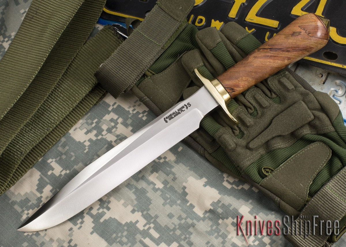 Randall Made Knives: Model 1-8 All Purpose Fighting Knife - Spalted Maple - 101117 primary image