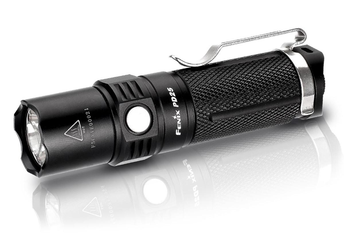 Fenix Lights: PD25 Flashlight - 550 Lumens - w/ USB Rechargeable Li-ion Battery primary image
