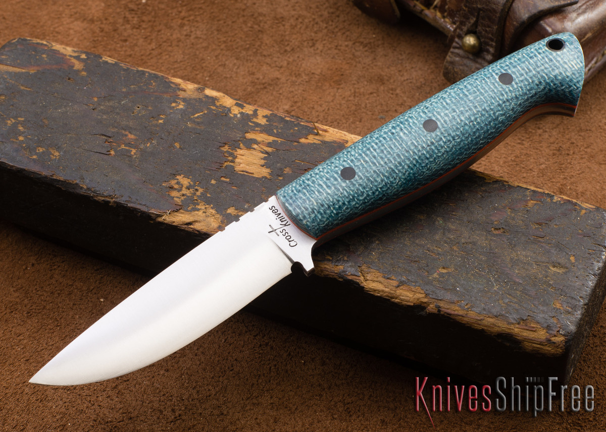 Cross Knives: EDC - Shadetree Micarta - Orange Liners - 111509 primary image