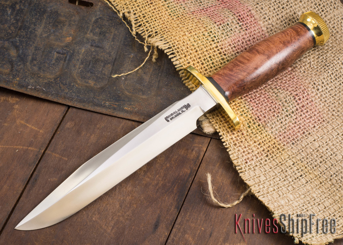 Randall Made Knives: Model 1-8 All Purpose Fighting Knife - Thuya Burl - 120717 primary image