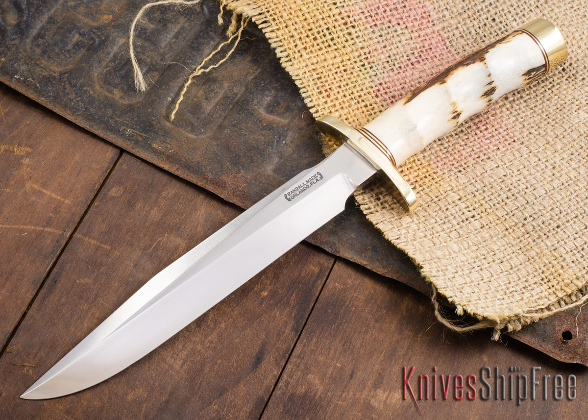 Randall Made Knives: Model 1-8 All Purpose Fighting Knife - Stag - 120905 primary image