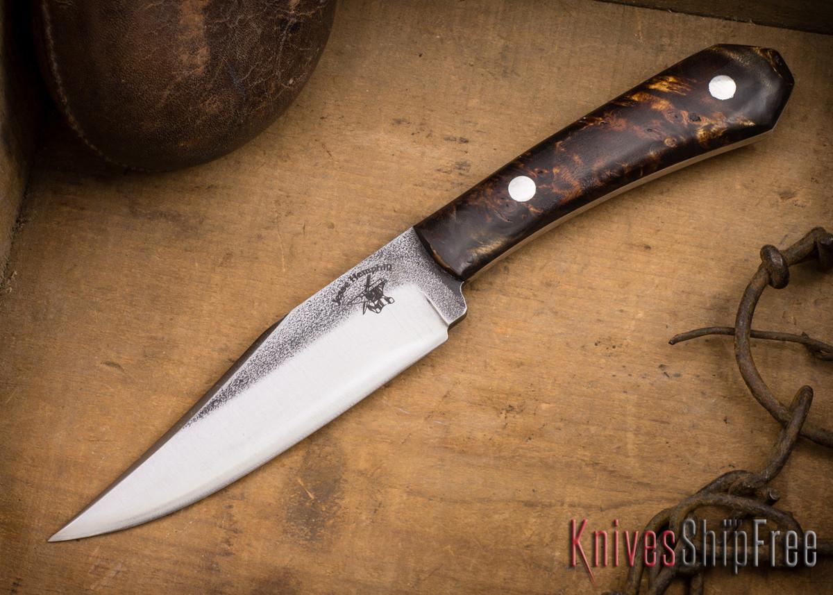 Jesse Hemphill Knives: Cumberland - Mappa Burl #2 primary image