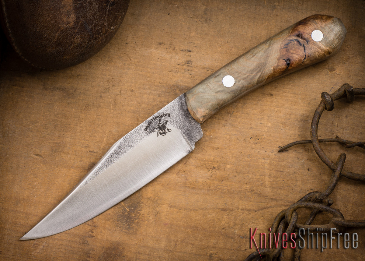 Jesse Hemphill Knives: Cumberland - Blue Maple #1 primary image