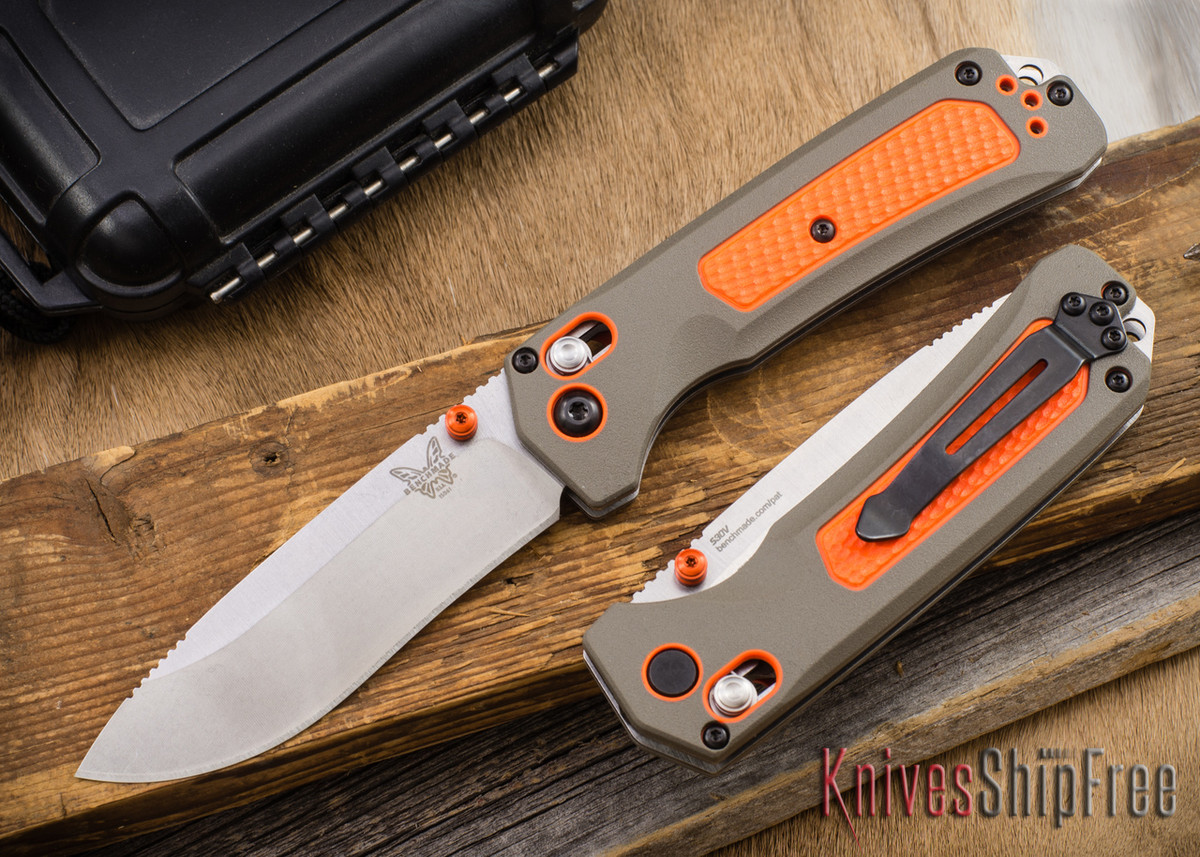 Benchmade Knives: 15061 Grizzly Ridge - Versaflex - CPM-S30V - AXIS Lock primary image