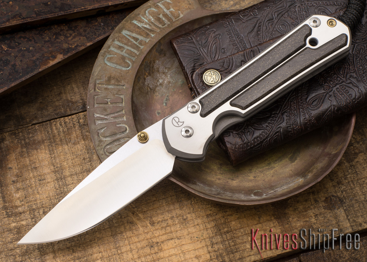 Chris Reeve Knives: Large Sebenza 21 - Bog Oak - 021506 primary image
