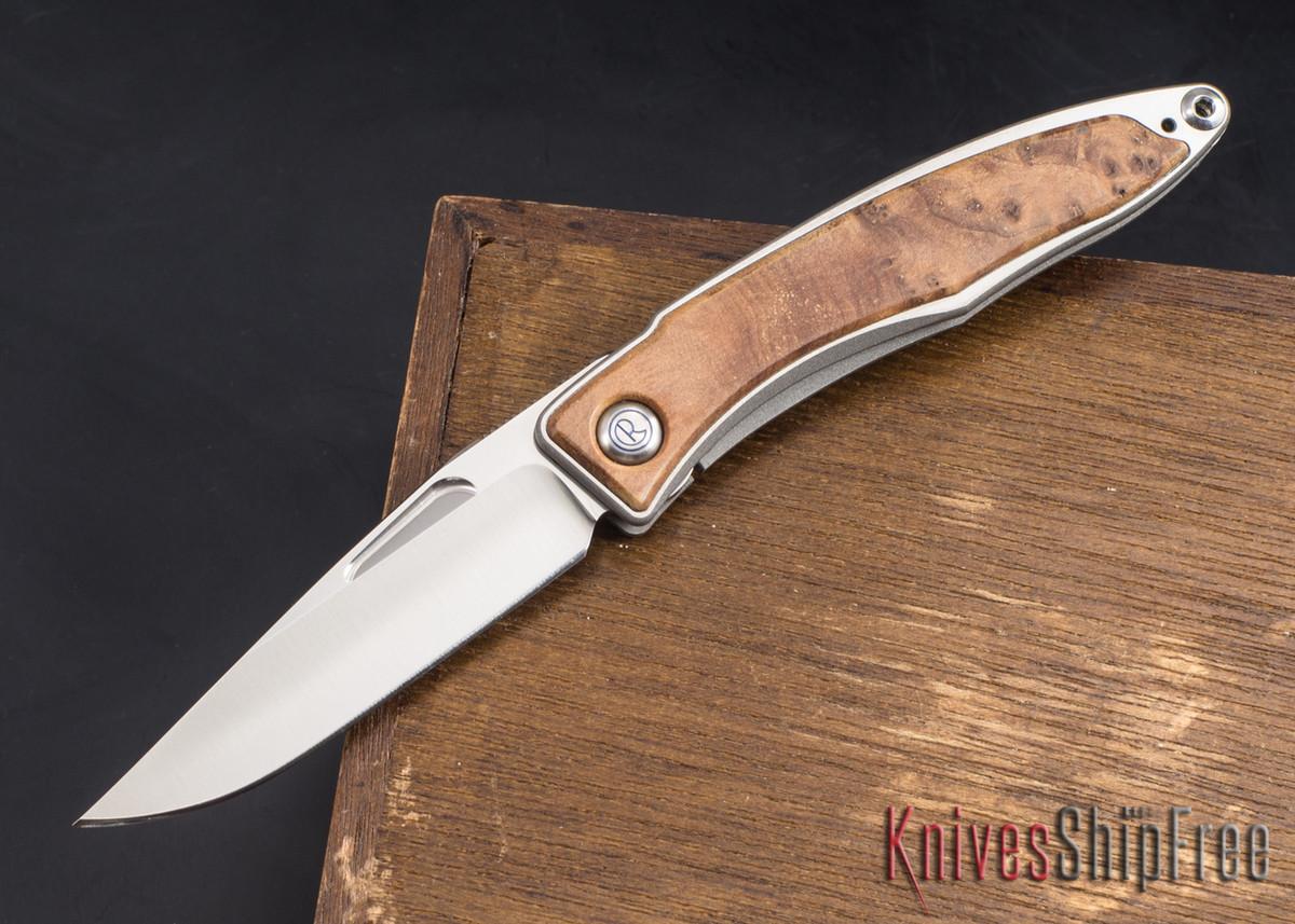 Chris Reeve Knives: Mnandi - Thuya Burl - 022103 primary image