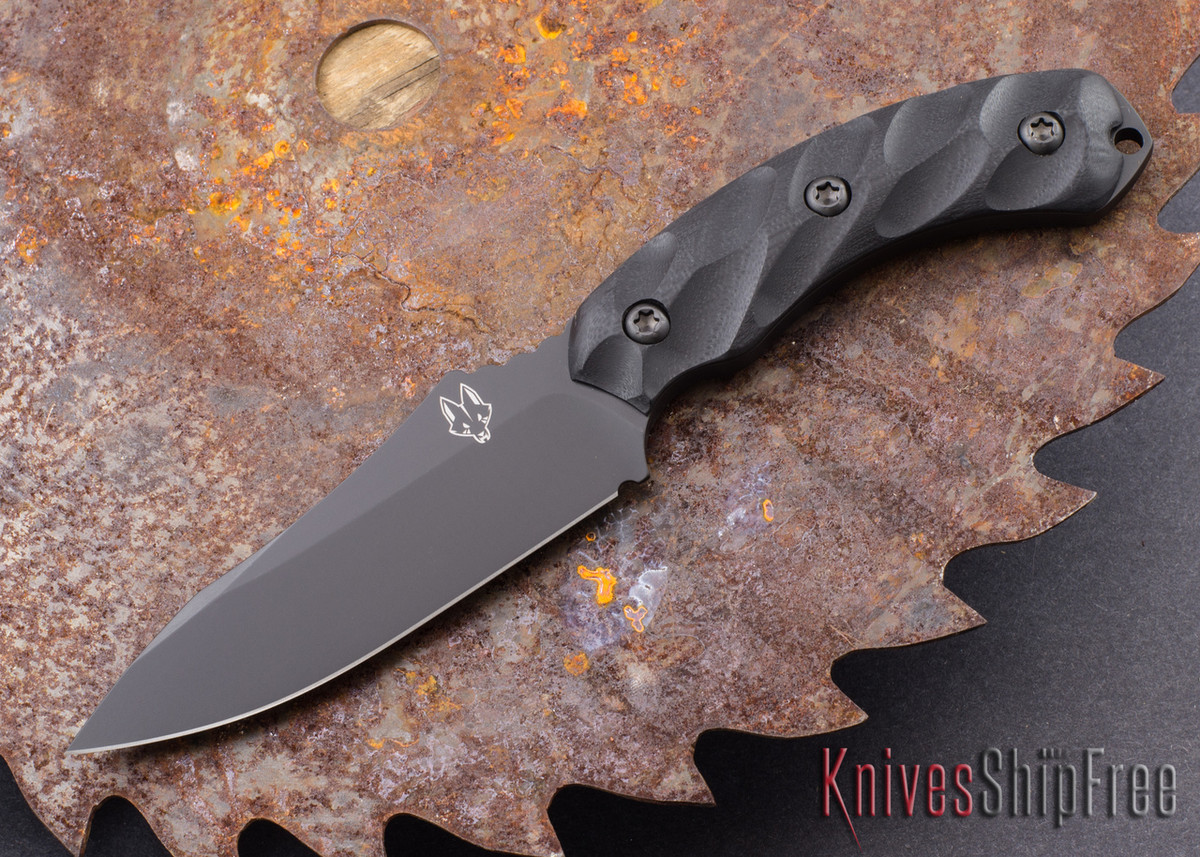 Southern Grind: Jackal - Black Blade - Black G-10 - Black Kydex Sheath primary image