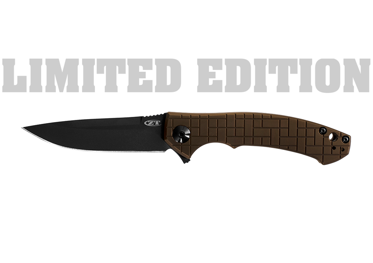 Zero Tolerance: ZT0450FCZDP - LIMITED EDITION - PVD Coated Titanium - ZDP-189 primary image