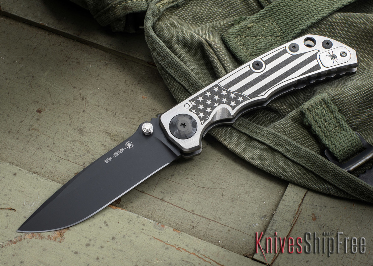 Spartan Blades: Harsey Folder - 2018 Special Edition - U.S. Flag