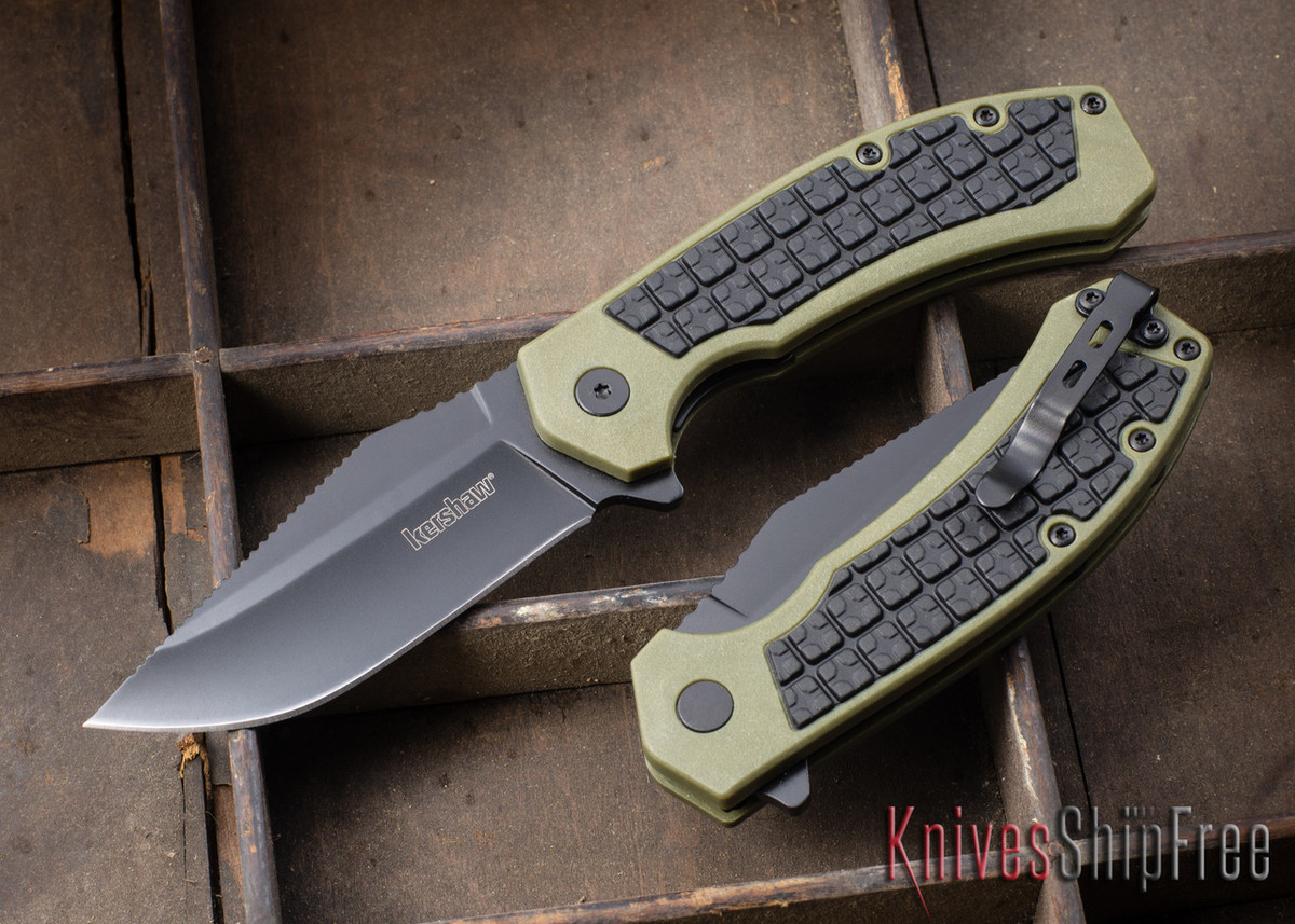 Kershaw Knives: Faultline - Liner Lock - Rubberized Grip - 8760 primary image