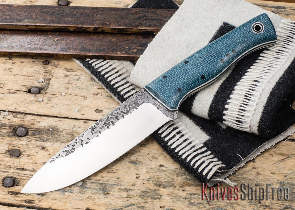 Fiddleback Forge: Duke - Sapphire Burlap - Black & White Liners primary image