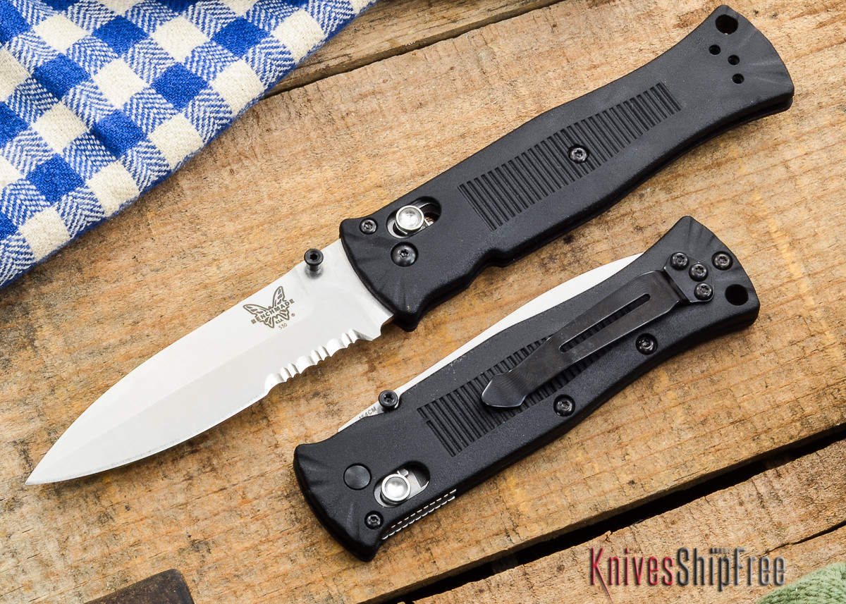 Benchmade Knives: 530S Pardue - Axis Lock - Spear Point - Serrated primary image