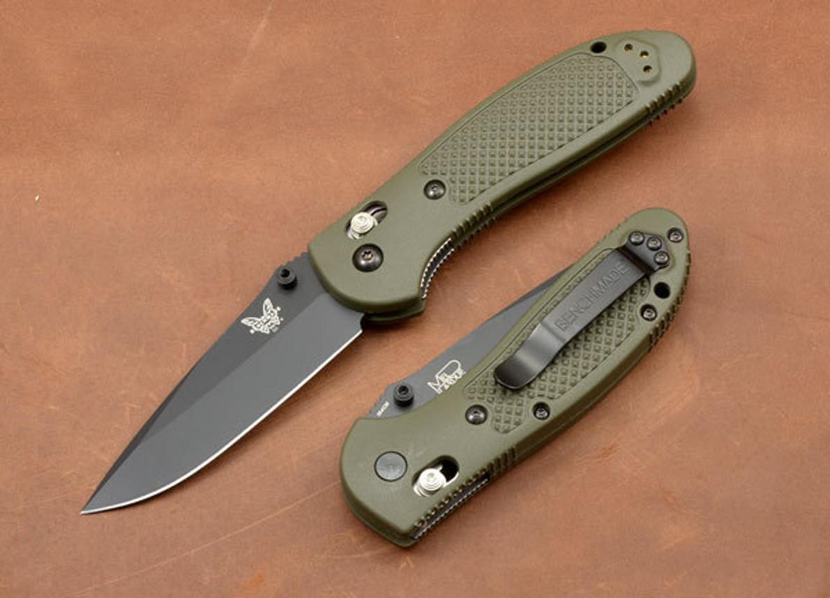 Benchmade Knives 551bkod Griptilian Modified Drop Point