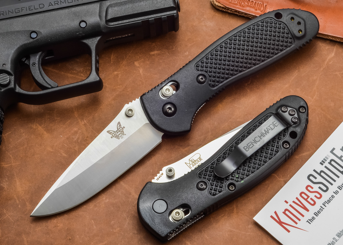 Benchmade Knives: 551 Griptilian - Modified Drop Point primary image