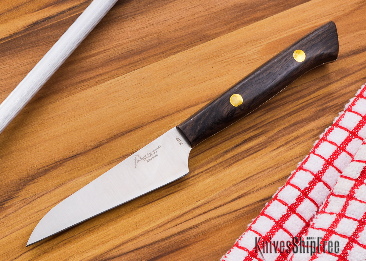 Northwoods Knives: Blackwood XHP - 90 mm (3.5 in) Paring Knife primary image